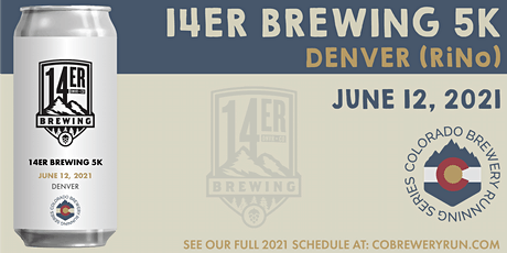14er Brewing 5k | Colorado Brewery Running Series tickets
