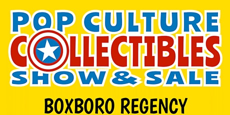 Pop Culture, Comics, Records & Collectibles Show & Sale tickets