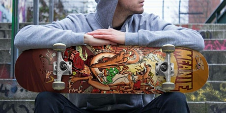 Design and Produce Your Own Skateboard Deck! tickets