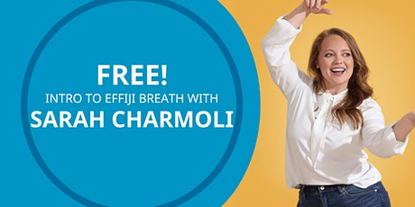 FREE Intro to Breathwork with Sarah tickets