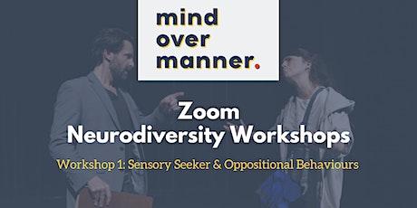 Neurodiversity Session One: The Sensory Seeker tickets