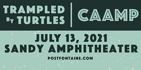 Trampled By Turtles & Caamp entradas