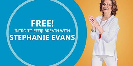 FREE Intro to Breathwork with Stephanie tickets