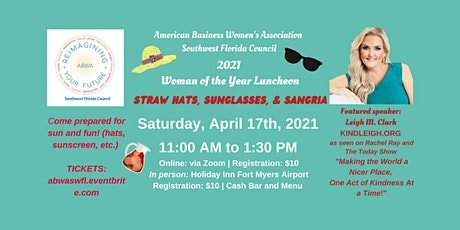 #ReimaginingYourFuture - Celebrating ABWA SWFL Woman of the Year tickets