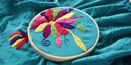 Mexican Embroidery tickets
