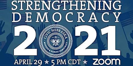 Strengthening Democracy 2021 tickets