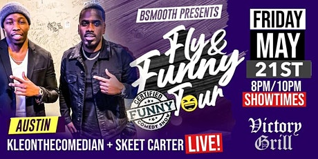 ATX Fly & Funny Comedy Tour Starring KleonTheComedian & SkeetCarter tickets