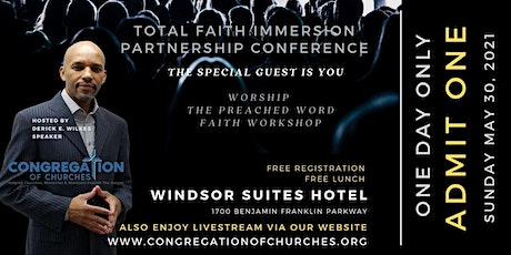 TOTAL FAITH IMMERSION PARTNERSHIP CONFERENCE tickets
