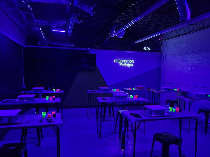 Galaxy GLOW Resin Art Workshop image