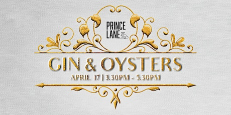 Gin & Oysters tickets