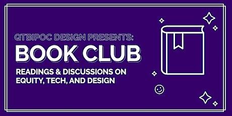 QTBIPOC Design: Book Club tickets