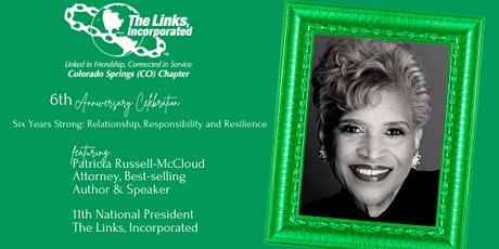 Colorado Springs (CO) Chapter of The Links, Incorporated 6th Anniversary tickets