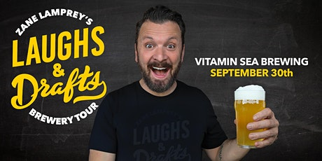 VITAMIN SEA BREWING •  Zane Lamprey's  Laughs & Drafts  • Weymouth, MA tickets