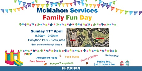 McMahon Services Family Fun Day tickets