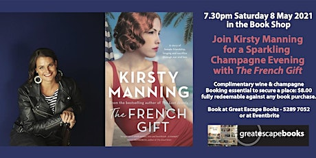 Join Kirsty Manning for a Sparkling Champagne Evening with The French Gift tickets