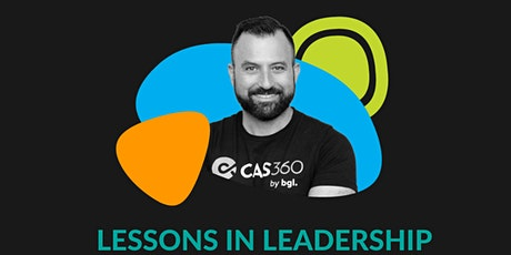 Lessons in Leadership with Daniel Tramontana BGL COO tickets