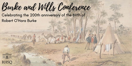 Burke and Wills Conference tickets