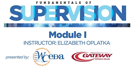 2021 Fundamentals of Supervision Module I tickets