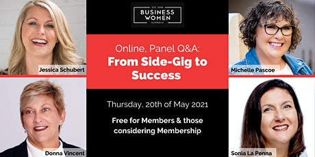 BWA, Online Panel Q&A: From Side-Gig to Success tickets