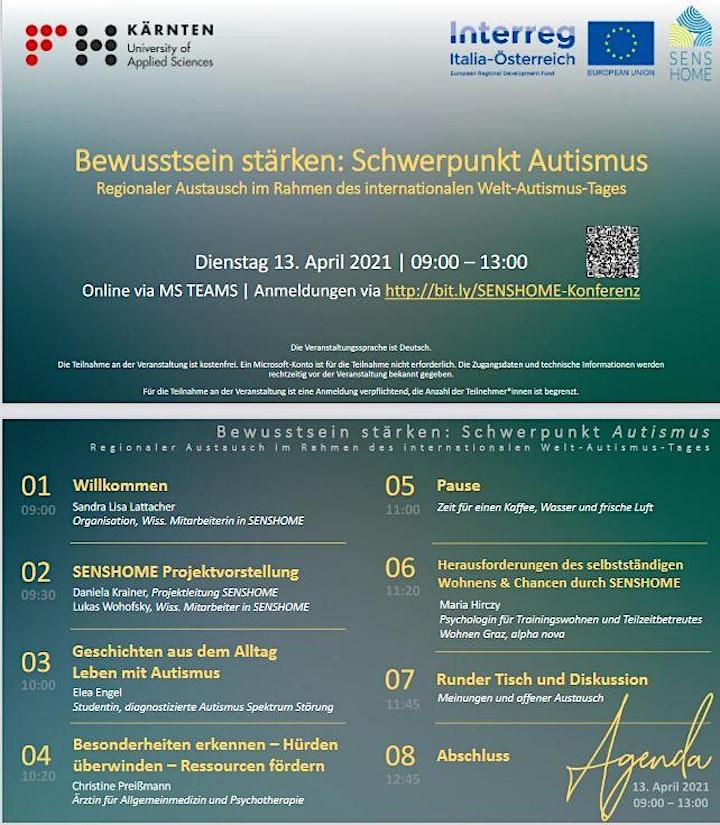 Online Konferenz: Bewusstsein stärken - Schwerpunkt Autismus: Bild