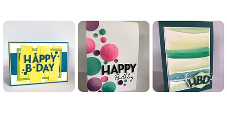 """Bright and Happy"" Card making with Bec O'Gorman tickets"