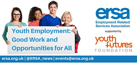 Youth Employment: Good Work and Opportunities for All tickets