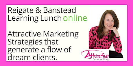 April Learning Lunch - creating an attractive Marketing Strategy tickets