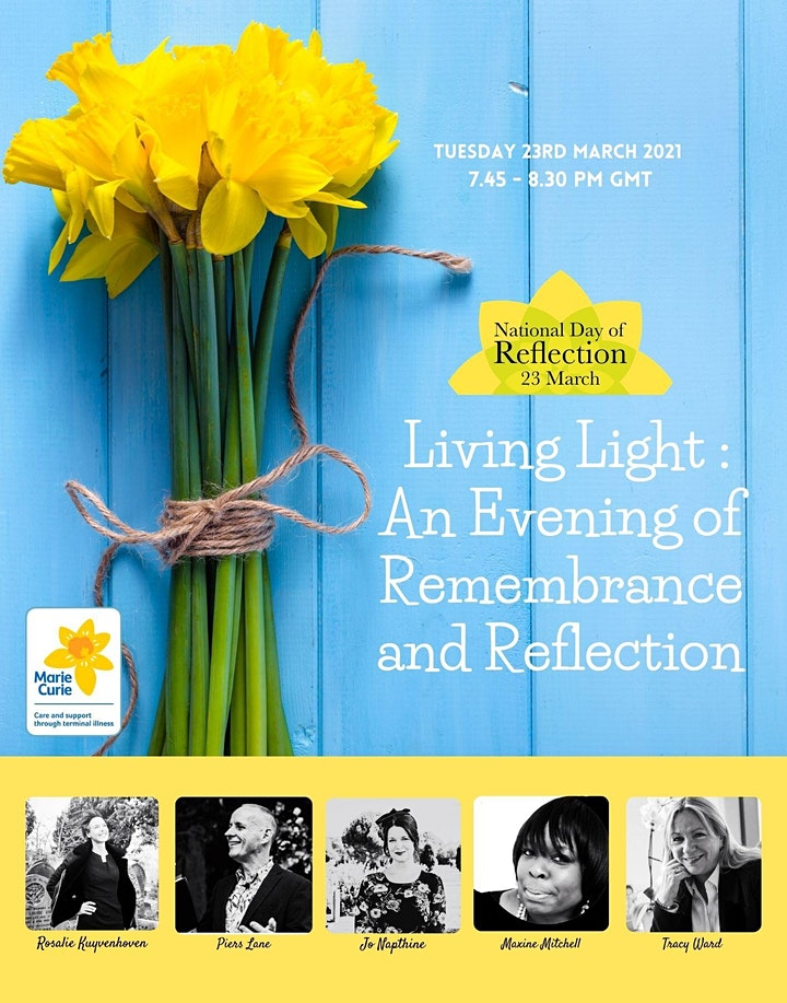 Living Light: an evening of remembrance and reflection image