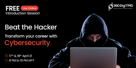 Cybersecurity | Free session| Learn techniques to Protect Information tickets