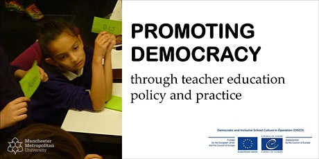 Promoting Democracy through teacher education policy and practice tickets