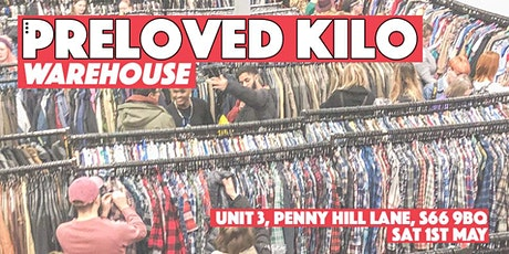Warehouse Preloved Kilo tickets