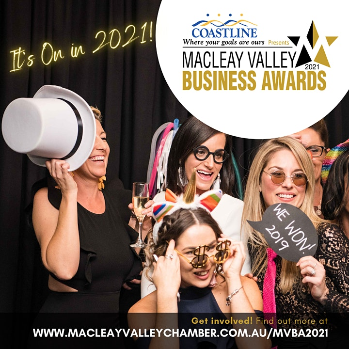 2021 Macleay Valley Business Awards Launch Event image
