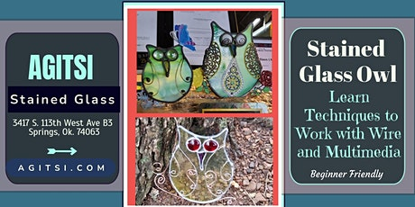 Stained Glass Owl,  Working With Wire Workshop tickets