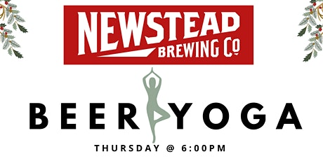 Beer Yoga at Newstead Brewing Co. tickets