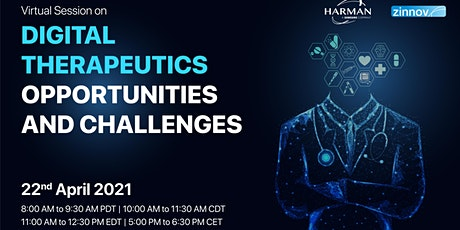 Digital Therapeutics – Opportunities and Challenges tickets