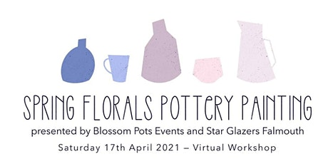 Spring Florals Pottery Painting tickets