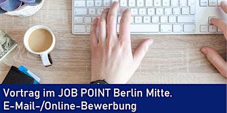 Online-Seminar: E-Mail- und Online-Bewerbung Tickets