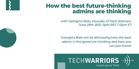 How the best future-thinking admins are thinking tickets