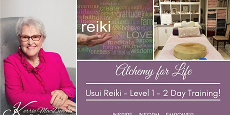 Usui Reiki - Level 1 - 2 Day Training tickets