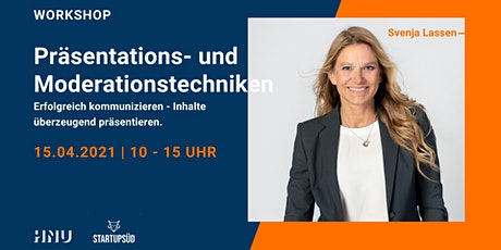 WORKSHOP | Präsentations- und Moderationstechniken Tickets