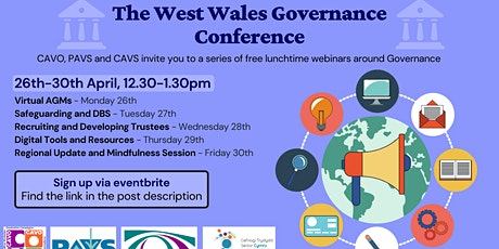 Virtual AGMs - The West Wales Governance Conference tickets