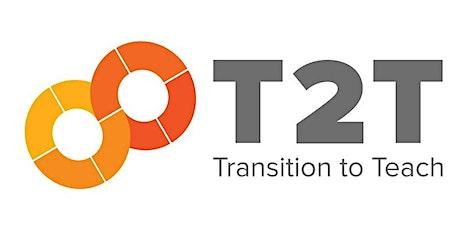 Transition to Teach: Q&A tickets