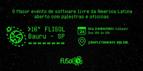 Flisol Bauru 2021 ingressos