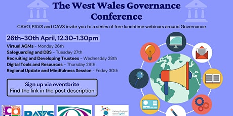 Regional Update & Mindfulness Session -The West Wales Governance Conference tickets