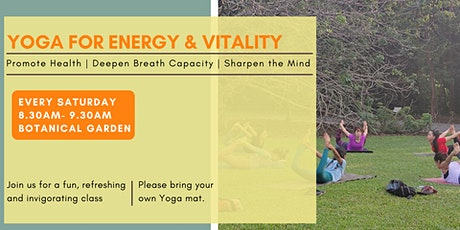 Yoga for Vitality tickets