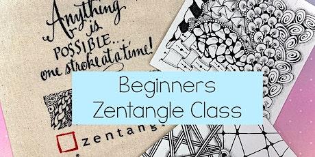 Beginners Zentangle Workshop (April 2021) tickets