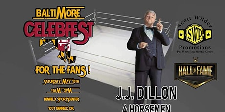 JJ Dillon at Baltimore CelebFest tickets