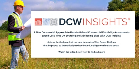 Launch Event for the DCW Insights Platform tickets