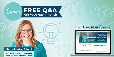 Lovely Canva Crew - FREE Q&A tickets