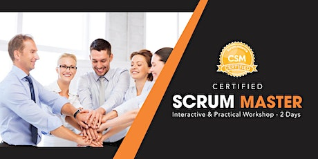 Certified Scrum Master certification Training In Minneapolis-St. Paul, MN tickets